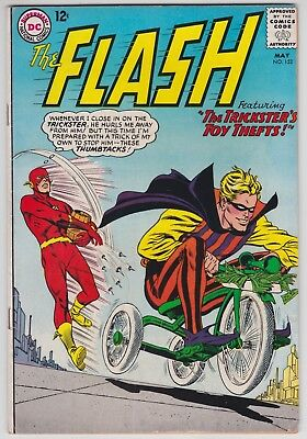 Flash #152 VG- 3.5 The Trickster's Toy Thefts Carmine Infantino Art!