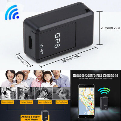 Mini Car GPS/SPY Real Time Tracker Magnetic Device Voice Record Tracking Locator