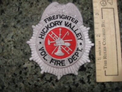 Hickory Valley Tennessee Volunteer Fire Rescue EMS patch TN