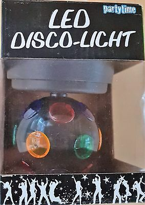 Partytime LED Disco-Licht Discokugel Ball Lichteffekt