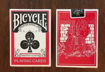 Bicycle Beyond The Streets Playing Cards by Timothy Curtis and printed by USPCC