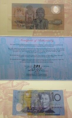 10th Anniversary of Australian Polymer Notes 1988-1998
