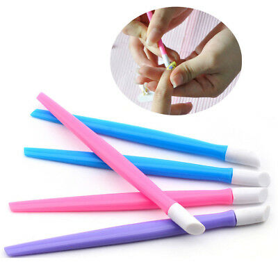 3/10pcs Nail Sticker Push UV Gel Polish Remover Nail Art Cuticle Pusher Tools