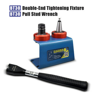SFX BT30 Tool Holder Tightening Fixture BT30 Pull Stud Wrench Combination