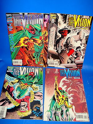 Miniseries 4 numbers-THE VISION-Marvel comics-comic in english