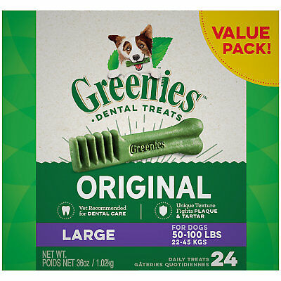 Greenies Original Large Dental Dog Treats