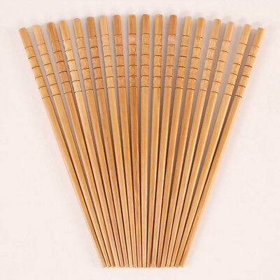 2/5/10 Pairs Reusable Bamboo Chopsticks Chinese Gift Kitchen Accessories Sticks