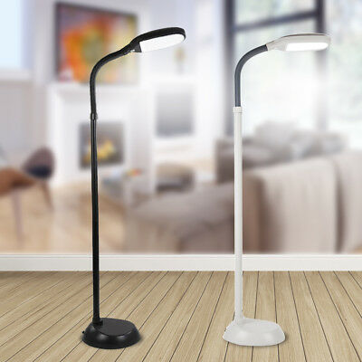 Led Floor Lamp Adjustable Standing Light Gooseneck Modern Bedroom Living Room US