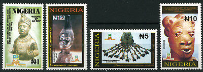Nigeria 1993 Mnh Set National Museums And Monuments