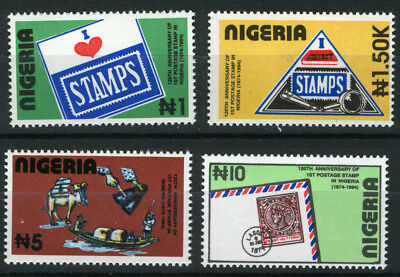 Nigeria 1994 Mnh Set 120Th Anniv. Of First Postage Stamps In Nigeria