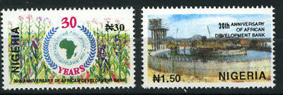 Nigeria 1994 Mnh Set 30Th Anniv. Of African Development Bank