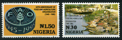 Nigeria 1995 Mnh 50Th Anniv. Of Food And Agriculture Organization Fao
