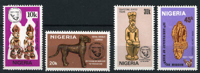 Nigeria 1982 Mnh Set 25Th Anniv. Of National Museum