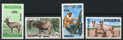 Nigeria 1984 Mnh Set Nigerian Wildlife