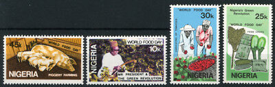 Nigeria 1981 Mnh Set World Food Day