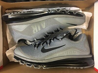 Men's Nike Air Max More Running Shoes Cool GreyBlack