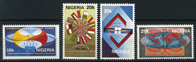Nigeria 1990 Mnh Set 30Th Anniv. Of Opec