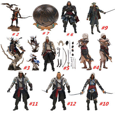 Assassin''s Creed Origins Aya Connor Kenway Action Figure Statue Figurines Toy