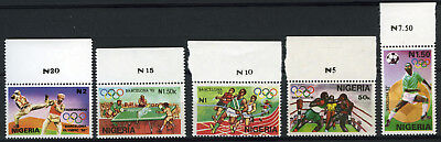 Nigeria 1992 Mnh Set Olympic Games Barcelona