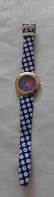 United colors of Benneton ladies watch By Bulova pre owned working