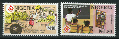 Nigeria 1994 Mnh Set International Year Of The Family