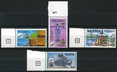 Nigeria 1995 Mnh Set 50Th Anniv. Of United Nations
