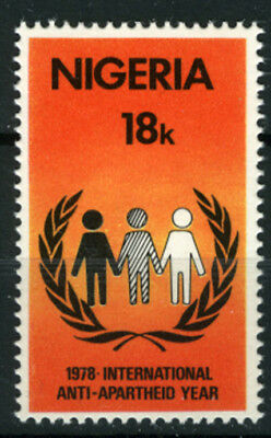 Nigeria 1978 Mnh International Anti-Apartheid Year