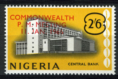 Nigeria 1966 Mnh Commonwelth Prime Ministers Meeting
