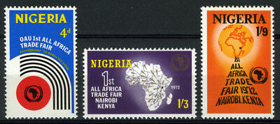 Nigeria 1972 Mnh Set All-Africa Trade Fair