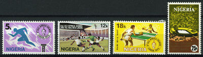 Nigeria 1973 Mnh Set Second All-African Games Lagos
