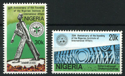 Nigeria 1986 Mnh Set 25Th Anniv. Of Nigerian Institute Of International Affairs
