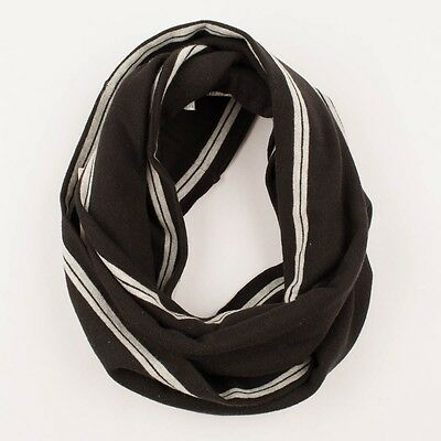 Diesel Size M Boy's Rollot Knitted Snood Scarf in Black (NWT $50)