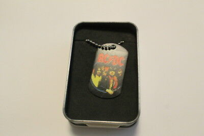 AC DC necklaces in box model 1