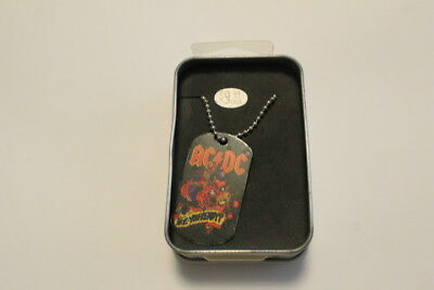 AC DC necklaces in box model  2