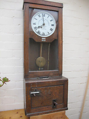 Gledhill-Brook Working And Accurate Time Recorder Wall Clock