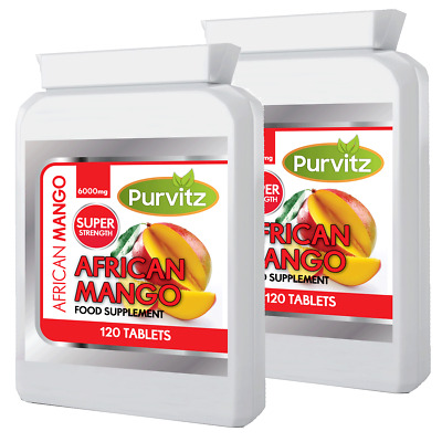 Mangue Africaine Ultra 6000mg Grande Force Comprimé 240 Comprimés Made UK