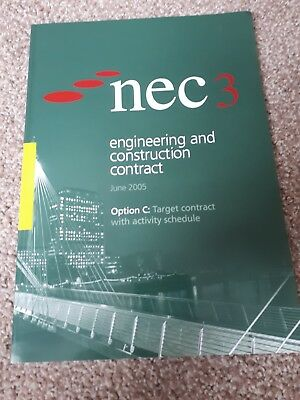 NEC3 Engineering & Construction Contract: Option C:target contract with schedule