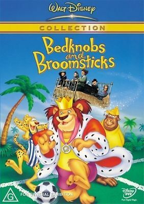 Bedknobs and Broomsticks  - DVD - NEW Region 4