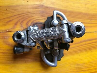 Pre Used Campagnolo Nuovo Record  Pat.80 6 Speed Ready To Use Rear Derailleur.