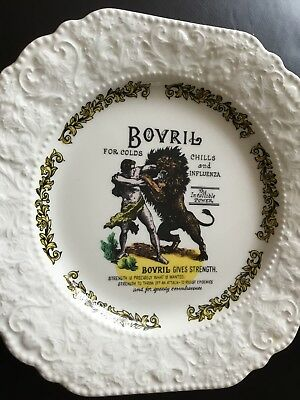 A Lord Nelson Pottery 7 1/2 Bovril Plate Vgc