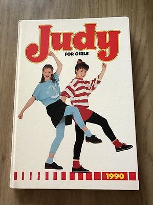 1990 Judy For Girls Annual