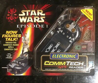 Star Wars 1999 Episode 1 Electronic CommTech Reader