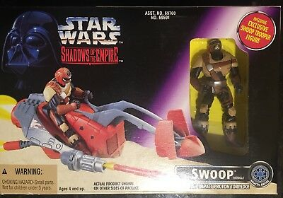 1996 Star Wars SOTE / Shadows of the Empire - Swoop Vehicle with Swoop Trooper