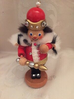 Steinbach Mini King Limited Edition Nutcracker New in Wood Box Germany S280
