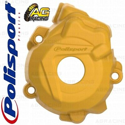 Polisport Ignition Cover Protector Yellow For KTM XC-F 250 2015 Motocross Enduro