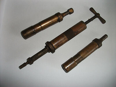 Vintage Brass Grease Guns for Historic Cars