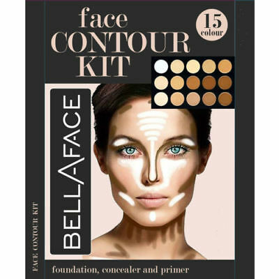 15 Shades Colour Concealer Contour Makeup Palette Kit Make Up Set, Palette #2