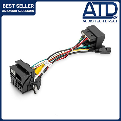 Quadlock Adaptor For VW/SKODA Radio Plug (2015-) To 2003-2015 Transporter T6 T5