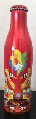 Coca Cola Aluminum Bottle Fifa World Cup 2010 South Africa Brazil Limited Edit
