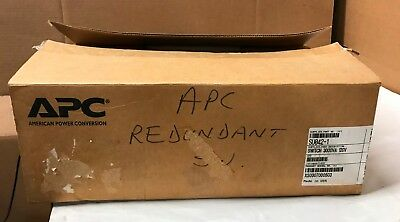 APC SU042-1 Redundant Automatic Transfer Switch new other (no manual, no screws)